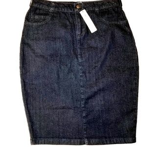 Downeast Denim Pencil skirt
